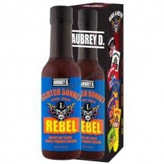 Aubrey D rebel scotch bonnet hot sauce