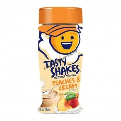 Tasty shakes oatmeal mix-ins peaches and cream