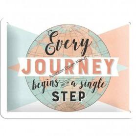 Plaque every journey
