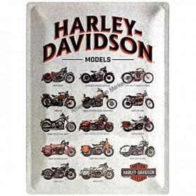 Plaque harley davidson models