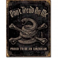 Don't tread on me proud american