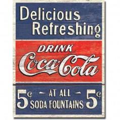 Coke delicious 5 cents