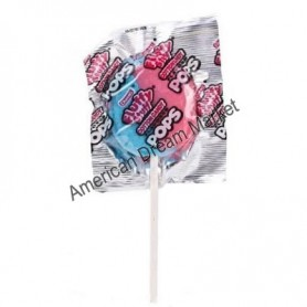 Fluffy stuff cotton candy pops