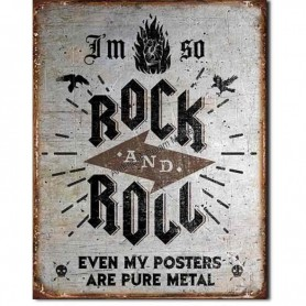Rock n roll poster