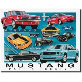 Mustang chronology