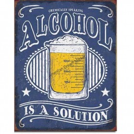 Alcohol solution