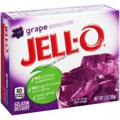Jell-O Gellée au raisin