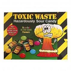 Toxic waste hazardously sour candy