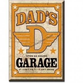 Magnet dad's garage