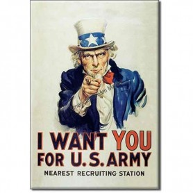 Magnet uncle sam i want you