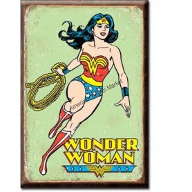 Magnet wonder woman retro