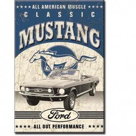 Magnet ford classic mustang