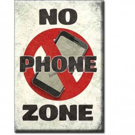 Magnet no phone zone