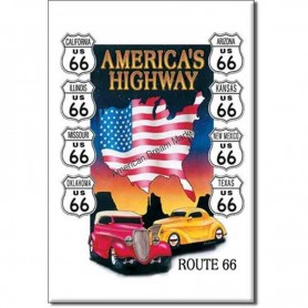Magnet route 66 america hwy