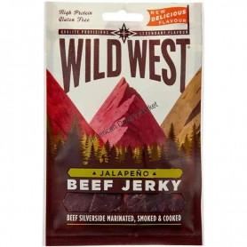 Wild west beef jerky jalapeno 100g
