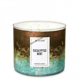 BBW bougie eucalyptus mint
