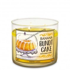 BBW bougie banana bundt cake