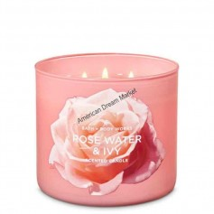 BBW bougie rose water and ivy
