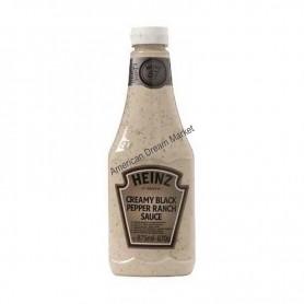 Heinz creamy black pepper ranch sauce 875g