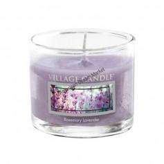 VC Votive verre rosemary lavender