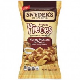 Snyder's of hanover honey mustard and onion 141g