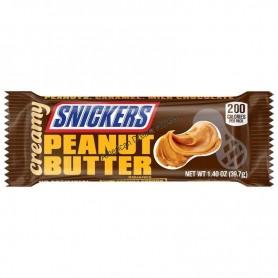 Snicker creamy peanut butter