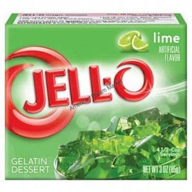 Jell-O Gellée au citron vert