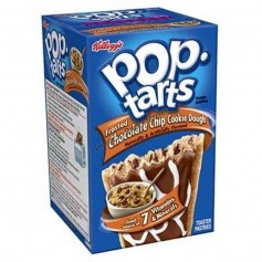 Kellogg's Pop tarts chocolate chip cookie dough