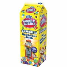 Dubble bubble gumballs machine refill box