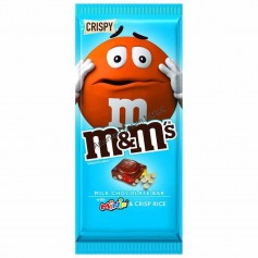 M&m's tablette milk chocolate crispy