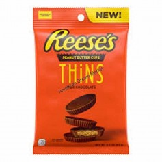 Reese's peanut butter cup thins