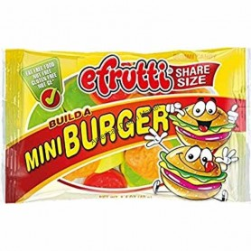Efrutti build a mini burger