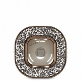 Scentportable gemstone square vent clip