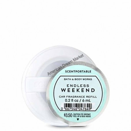 Scentportable recharge endless week end