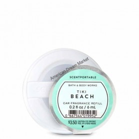Scentportable recharge tiki beach
