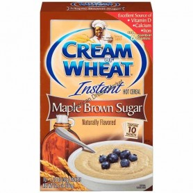 Cream of wheat instant maple brown sugar