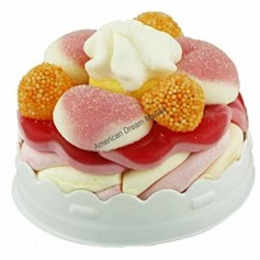 Raindrops mini candy cake