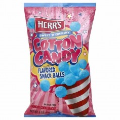 Herr's cotton candy snack balls