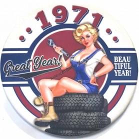 Magnet vintage 1971