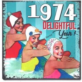 Magnet vintage 1974