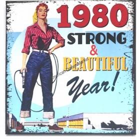Magnet vintage 1980