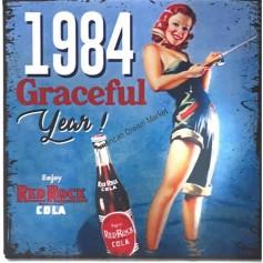 Magnet vintage 1984