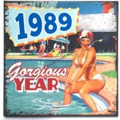 Magnet vintage 1989