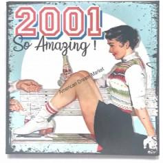 Magnet vintage 2001
