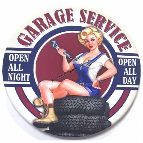 Magnet vintage garage service