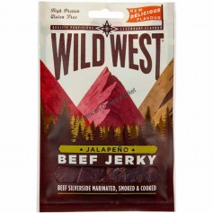 Wild West beef jerky jalapeño 25g