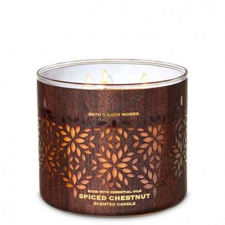 BBW bougie spiced chestnut