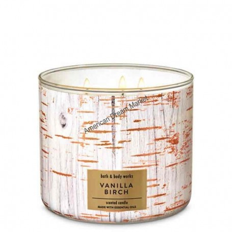 BBW bougie vanilla birch