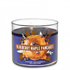 BBW bougie blueberry maple pancakes