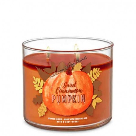 BBW bougie sweet cinnamon pumpkin